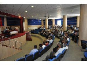 Sincik'te okul servis şoförlerine seminer