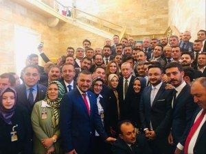 Belediye Başkanı Seçen, AK Parti grup toplantısına katıldı