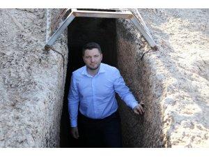 Milletvekili Toprak, Perre Antik Kent'te incelemelerde bulundu