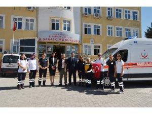 Kırşehir Sağlık Müdürlüğüne yeni ambulans