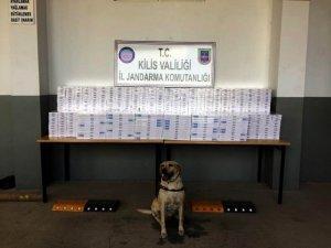 8 Bin 400 paket kaçak sigara yakalandı