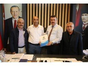 Atakum'da Tokatlılarla 'Yörekent' protokolü