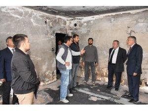 Başkan Bozkurt'tan geçmiş olsun ziyareti