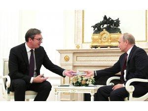 Putin ve Vucic, Sırbistan - Kosova gerilimini görüştü