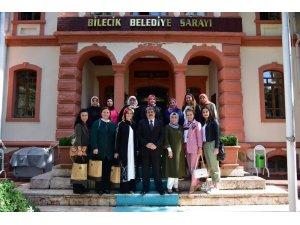 Bozüyük AK Parti Kadın Kolları'ndan Başkan Can'a ziyaret