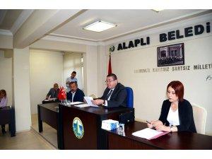 Alaplı Belediyesi Meclis toplantısı gerçekleşti