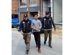 Eskişehir'de uyuşturucu satıcısı şüpheli tutuklandı