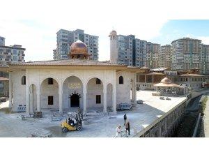 İlkadım'da Cami ve Külliye inşaatında sona yaklaşıldı