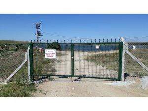 TESKİ, Türkmenli Göletinin çevresini tel çit ile koruma altına aldı.