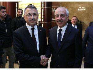 Başkan Gül, Fuat Oktay ile görüştü