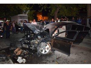 13 yaşındaki çocuğa çarptıktan sonra kaçan şoför kaza yaptı: 3 yaralı