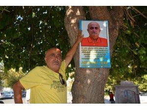26 yıl önce diktiği ağaca adı verildi