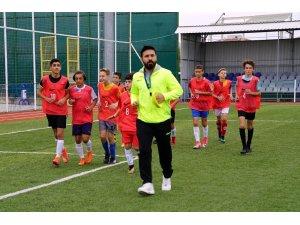 U-14 milli takım seçmeleri Çorlu'da yapıldı