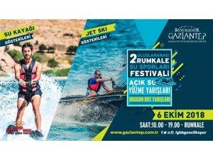 Rumkale, su sporları festivali'ne hazır