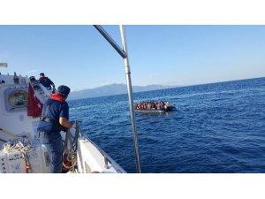 Kuzey Ege'de 88 kaçak işte böyle  yakalandı