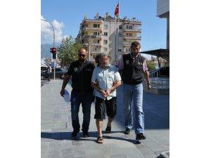 FETÖ'den aranan Çine eski emniyet müdürü Alanya'da yakalandı