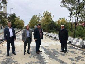 Başkan Yüksel Edirne 4. Caddesi'nde incelemelerde bulundu