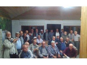 Emekli sivil savunma bekçileri bir araya geldi