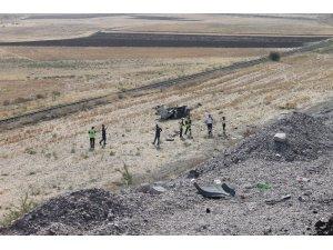 Çankırı'da otomobil tarlaya uçtu: 1 ölü