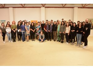 Güzel Sanatlar Enstitüsü öğrencilerinin eserleri sanatseverlerle buluştu