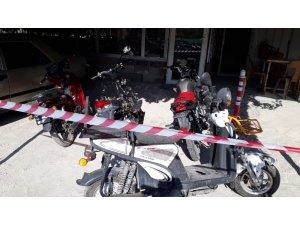 Denizli polisi motosiklet hırsızını yakaladı