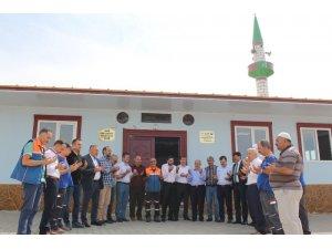 Şehit Çelik'in ismi verilen camii açıldı