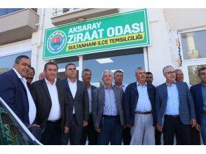 Aksaray Ziraat Odası Sultanhanı temsilciliği açıldı
