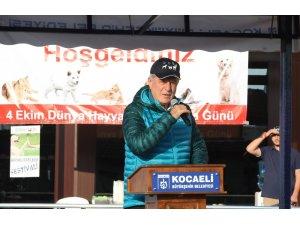 Başkan Karaosmanoğlu, ''Sokak hayvanları hayatın bir parçasıdır''