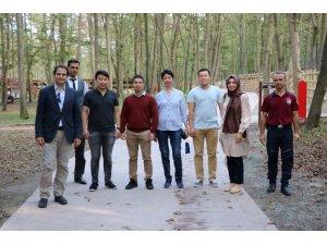 TDBB ve Kocaeli Büyükşehir Belediyesi Kırgizastan'daki Atatürk Parkı'nı yenileyecek