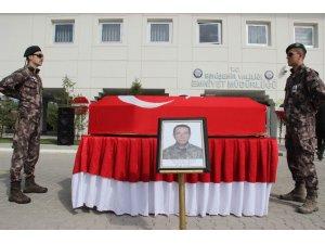 Yaşamını yitiren Özel Harekat polisi için tören düzenlendi