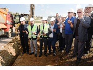 11 köyün merakla beklediği doğalgaz hattının temeli atıldı