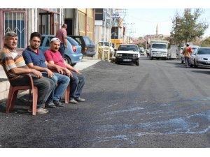 Esnafın sıcak asfalt nöbeti