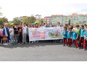 Niğde'de 'Dünya Yürüyüş Günü' etkinliği