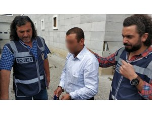 Hakkında 10 yıl hapis cezası bulunan şahıs, sahte paralarla yakalandı