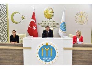 Bilecik Belediye Ekim ayı Meclis Toplantısı yapıldı