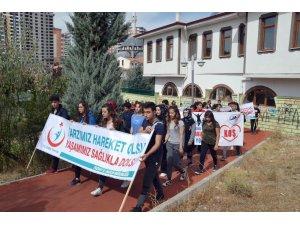 Yozgat'ta sağlıklı yaşam için yürüdüler