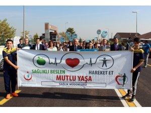 Denizli'de 3 Ekim Dünya Yürüyüş Günü etkinliği