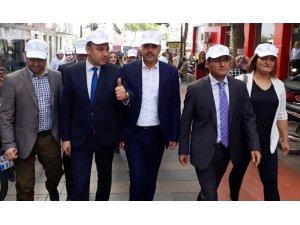 Alaşehir'de sağlık için yürüyüş düzenlendi