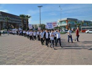 Aliağa'da sağlıklı yaşam için yürüyüş