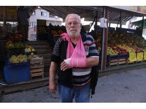 Pitbull saldırısına uğrayan yaşlı adam dehşet anlarını anlattı