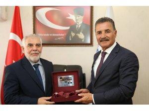 Başkan Tuna, ilçe müftülerini ziyaret etti