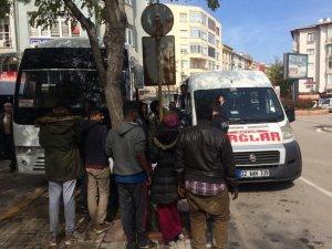 Keşan'da 120 kaçak göçmen yakalandı