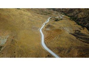 Hekimhan'da 16 kilometrelik grup yolu asfaltlandı