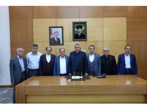 Muhtarlar'dan Başkan Toçoğlu'na ziyaret