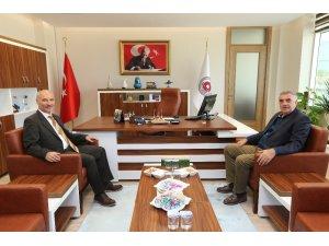 Toçoğlu'dan Bölge İdare Mahkemesi Başkanı Koçer'e ziyaret