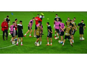 Spartak Trnava, Fenerbahçe maçı hazırlıklarını tamamladı