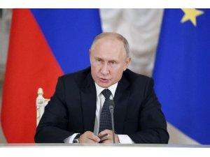 """Rusya Devlet Başkanı Putin: """"Rusya, Türkiye ile Suriye'deki durumun çözümü için dayanışma içinde çalışıyor"""""""