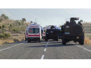 Batman'da askeri araca EYP'li saldırı: 4 şehit, 5 yaralı