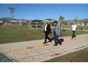 """Başkan  Barakazi: """"Bölgenin gözde parklarından birini inşa ettik"""""""