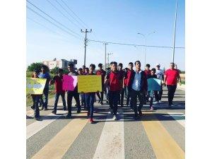 Ceylanpınar'da 3 Ekim Dünya Yürüyüş Günü Düzenlendi